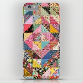 Grandma's Quilt iPhone Case