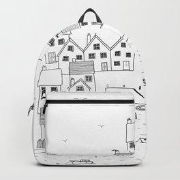 Harbour sketch Backpack