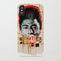 the godfather iPhone & iPod Cases featuring Godfather by Marko Köppe