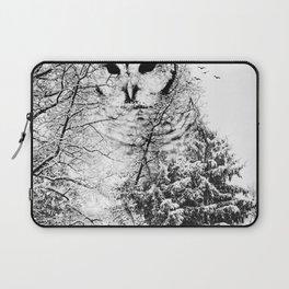 Winter Owl Laptop Sleeve