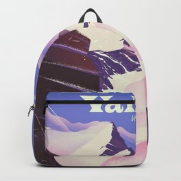 Les Trois Vallées Ski travel Backpack