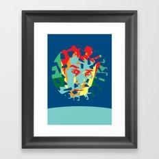 Moon (2009) Framed Art Print