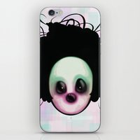 clown iPhone & iPod Skins featuring CLOWN by Andy Fairhurst Art
