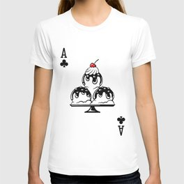 Delicious Deck: The Ace of Clubs T-shirt