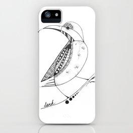 The Lark iPhone Case