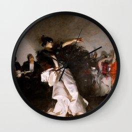 John Singer Sargent  El Jaleo 1882 Wall Clock