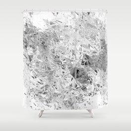 Design 145 Glass Explosion Shower Curtain