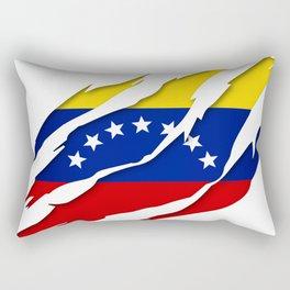 Venezuela Scratch Design Rectangular Pillow