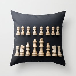 Ches4 Throw Pillow