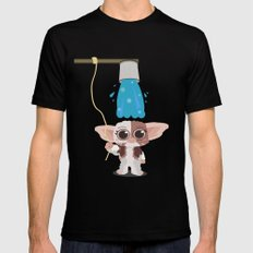 Ice bucket challenge Gizmo LARGE Mens Fitted Tee Black