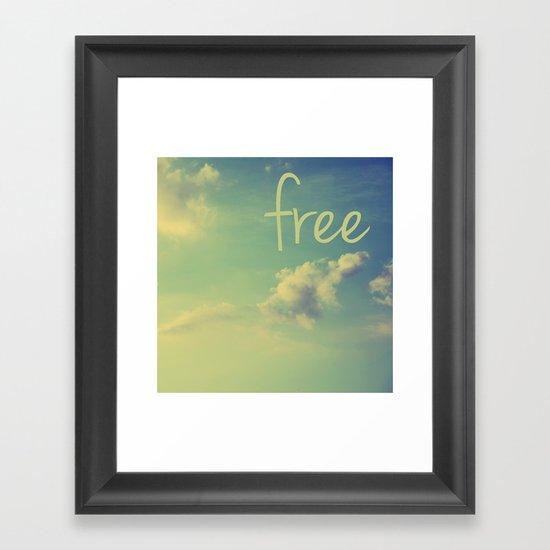 free VI Framed Art Print