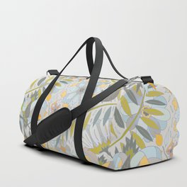 Faded Summer Blossoms Duffle Bag
