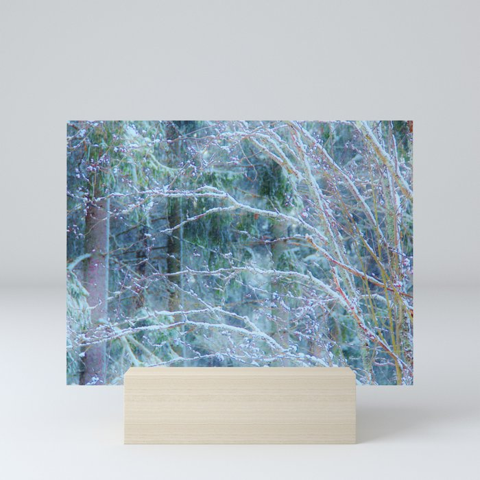 Mystery forest Mini Art Print