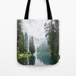 moody landscape Tote Bag