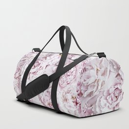 BED OF FLOWERS - PEONY PINK Duffle Bag