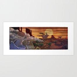Dream Ride Art Print
