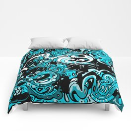 Funky Blue  Comforters