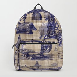 Vintage Sewing Toile Backpack