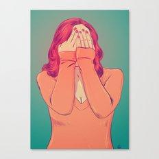 Shame Canvas Print