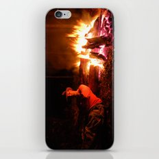snow fire iPhone & iPod Skin