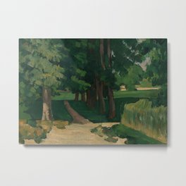 The Avenue at the Jas de Bouffan Metal Print