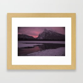 Vermillion Sunrise Three Framed Art Print