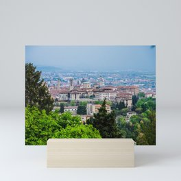 Bergamo, Citta Alta city view Mini Art Print