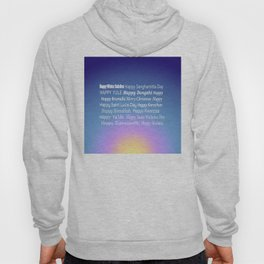 Happy Holidays Sunrise Hoody
