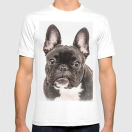 French bulldog portrait T-shirt