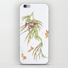 cat fishing  iPhone & iPod Skin
