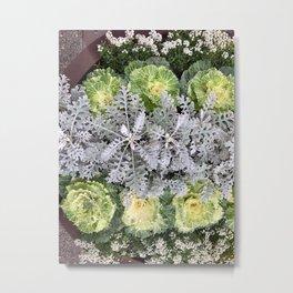 Foliage patterns Metal Print