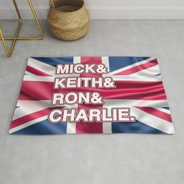 Rock and roll legends | for rock and roll fans | British Rock Rug