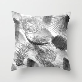 Draw Throw Pillow