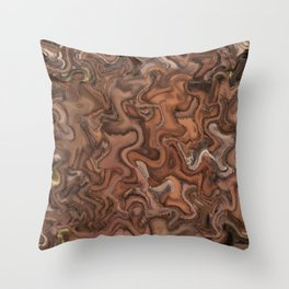 Abstract of Life Painting Throw Pillow