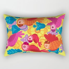 Parakeet´s Club Rectangular Pillow