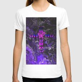Purple Fire Cross T-shirt