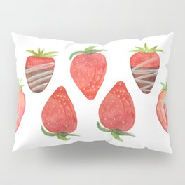 Strawberries Pillow Sham