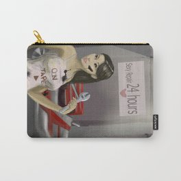 Mechanic sexy girl Carry-All Pouch