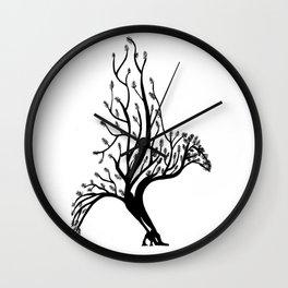 A Bird Wall Clock