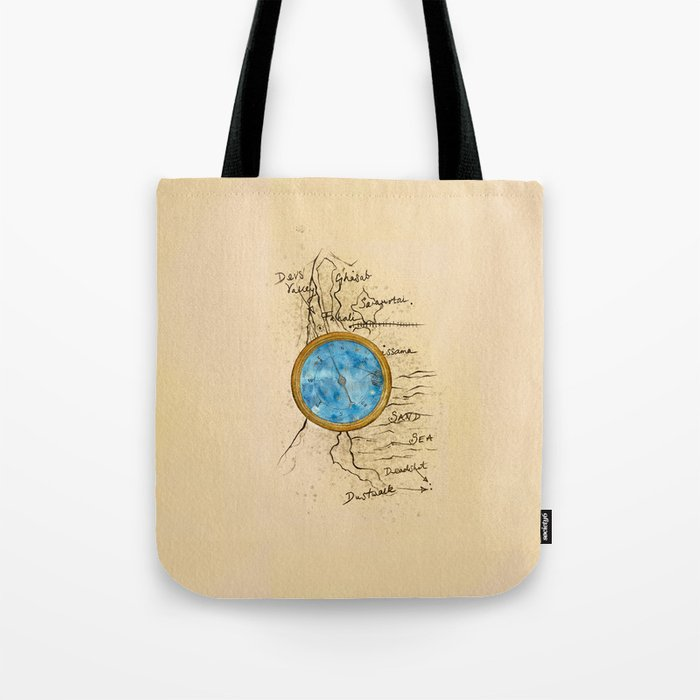 Jin's Compass (Rebel of the Sands) Tote Bag