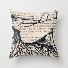 Philosophy of Law Throw Pillow