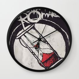 my chemical romance album 2020 ansel1 Wall Clock