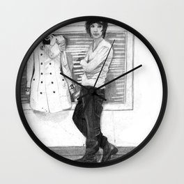 Say You Don't Want It Wall Clock