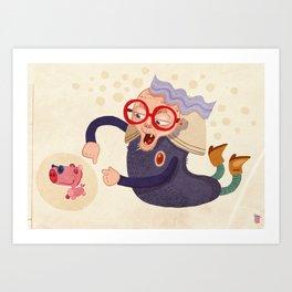 Grandma Art Print