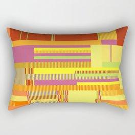 Scandinavian Moon (Fruit Colours) Rectangular Pillow