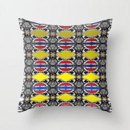 S&B2 D Throw Pillow