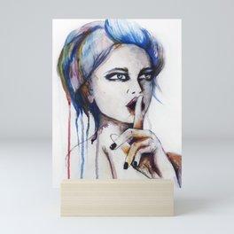 SHHHH Mini Art Print