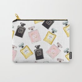 Classic Parfum Pattern Carry-All Pouch