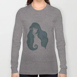 Nayru - The Goddess of Wisdom (no background) Long Sleeve T-shirt