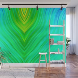 stripes wave pattern 3 sm60 Wall Mural